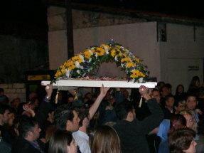 Påske på Cypern - Billede af 'Epitaf' skulptur